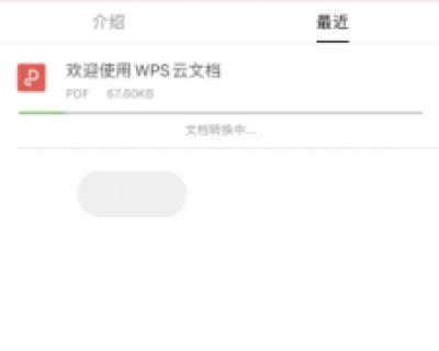 如何使用 WPS Office手机客户端里的 PDF 转 PPT 功能