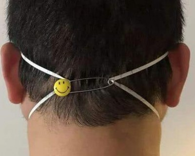 怎么戴口罩不勒耳朵