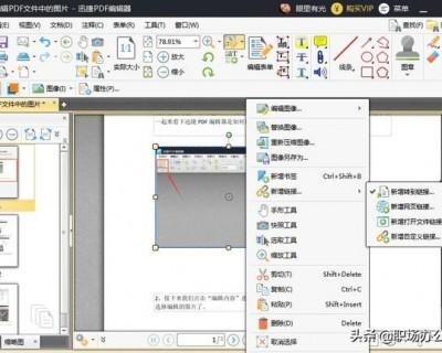 如何编辑pdf文件(PDF文件如何编辑修改)