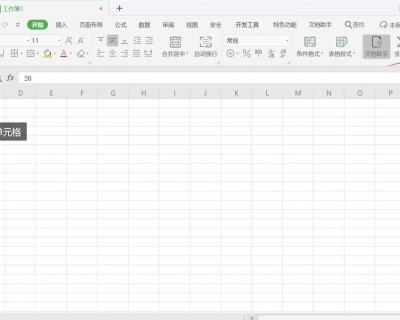 wps如何在 Excel 中设置单元格样式