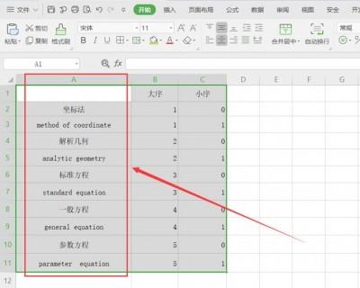 如何将Excel表格中行的顺序颠倒