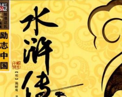 英雄的精神永流芳-读《水浒传》