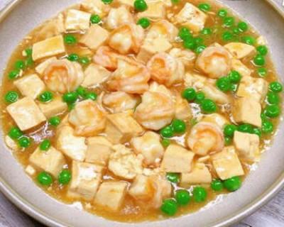 二十道简单易做家常菜之虾仁豆腐
