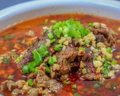 二十道简单易做家常菜之水煮牛肉的做法