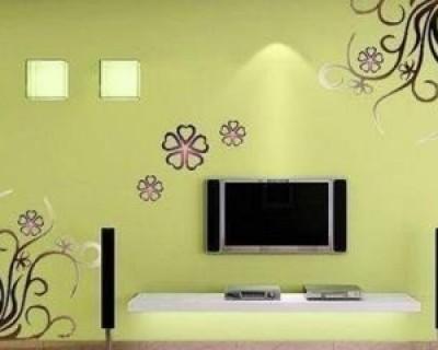 简单大方漂亮的电视墙