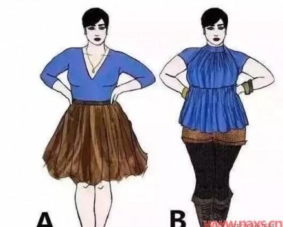 胯宽胸大怎么穿衣搭配(适合胯宽胸大的汉服)