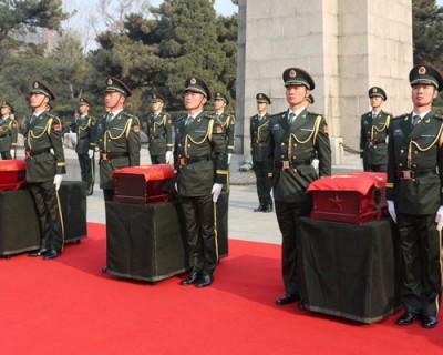 第七批在韩志愿军烈士安葬仪式直播