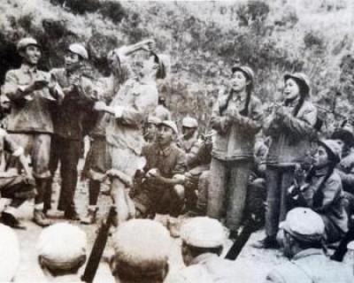 第七批在韩志愿军烈士安葬仪式