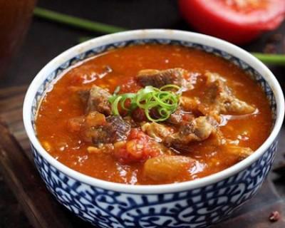 西红柿炖牛肉的做法,最正宗的做法不用高压锅就能做的软烂