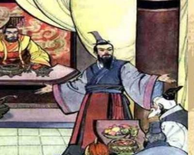 历史上第一个舌战群儒的人 不是蔺相如是他