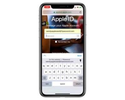 1Password等应用已支持iOS 12密码自动填充