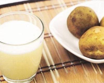 土豆汁的功效与作用(生土豆汁能不能喝)